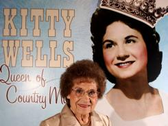 The Country Music Hall of Fame and Museum honored Kitty Wells in 2008.