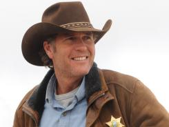 "The title character on 'Longmire,' played by Robert Taylor, ""has that Western rugged handsome look and his hat is part of his everyday life,"" says the show's costume designer."