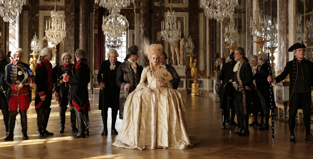 """Rich people falling is a much better story than poor people falling,"" says Benoit Jacquot, the writer-director of 'Farewell, My Queen,' starring Diane Kruger, center, as Marie Antoinette."
