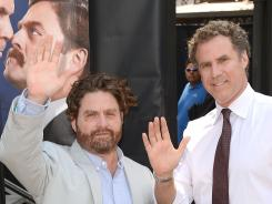 Zach Galifianakis and Will Ferrell are touring the country in support of their upcoming movie 'The Campaign,' in theaters Aug. 10.