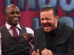 Ricky Gervais will be a guest on 'Trust Us With Your Life,' a show where improv artists bring celebrity anecdotes to life.