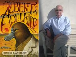 Howard Anderson and his book, 'Albert of Adelaide.'