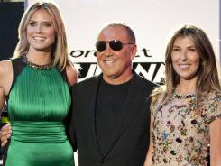 Making it work: Heidi Klum, Michael Kors and Nina Garcia return for Season 10 of 'Project Runway.'