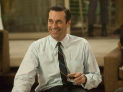 'Mad Men' is up for 17 total Emmys, including best drama, lead actor (Jon Hamm) and lead actress (Elisabeth Moss, not shown).