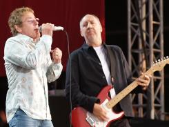 Roger Daltrey and Pete Townshend of The Who will hit the road for a U.S. tour this fall.