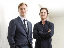 Christopher Nolan, director of 'The Dark Knight Rises,' and star Christian Bale team up for the last installment of the Batman series.