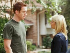 Damian Lewis and Claire Danes both scored Emmy nominations for their lead roles in Showtime's 'Homeland.'
