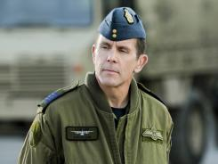 Gary Cole plays a Canadian Air Force officer who falls from grace in 'An Officer and a Murderer' Saturday on Lifetime.