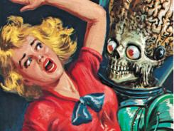 Topps' original Mars Attacks card series celebrates its 50th anniversary this year with new comics, toys and artwork.
