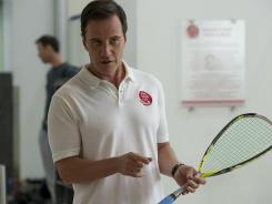 'White Collar' changes its game: Just as Neal Caffrey (Matt Bomer) returns to the fold, Peter Burke (Tim DeKay, pictured here) loses job at the FBI.