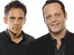 Ben Stiller, left, and Vince Vaughn reunite for the fourth time in the comedy 'The Watch,' which follows a neighborhood watch's attempt to combat alien invaders.
