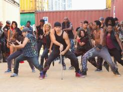 Dance, dance revolution: 'Step Up Revolution,' the fourth film in the franchise, is heavy on quality dance moves, and light on just about everything else.