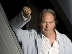 Among the high-profile titles on the way is Neil Young's autobiography, 'Waging Heavy Peace.'