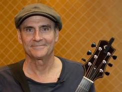 "James Taylor says the definitive album for newcomers to his music would be his two Greatest Hits collections. ""They sum me up,"" he says."