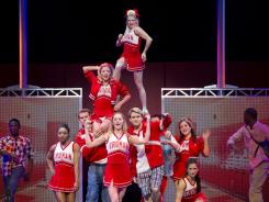 In &quot;Bring It On: The Musical,&quot; the high-stakes world of competitive cheerleading is intertwined with cutthroat high school politics.