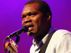 'Nothin' But Love' for blues guitarist Robert Cray on new album.