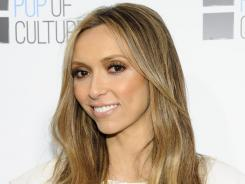 Designing woman: E! anchor Giuliana Rancic will launch her own fashion line in September.