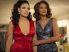 Jordin Sparks stars as the title character in 'Sparkle' and Whitney Houston plays Emma. This movie was Houston's last project.