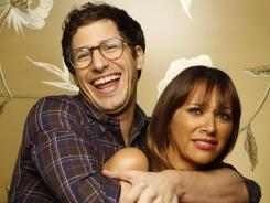 Rashida Jones and Andy Samberg co-star in 'Celeste and Jesse Forever.' Celeste has a penchant for being right, just like Jones and Samberg in real life.