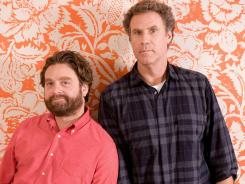 Galifianakis and Will Ferrell, co-star in the comedy 'The Campaign.'