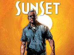 Nick Bellamy is not an old man to be trifled with in the graphic novel Sunset.