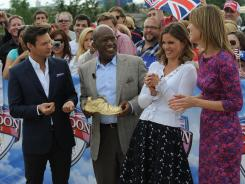 Ryan Seacrest joins Al Roker, Natalie Morales and Savannah Guthrie to report on the Olympics for NBC.
