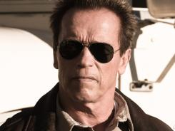 Arnold Schwarzenegger returns to his leading-man role, after his governorship of California, in 'The Last Stand.'