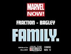 Matt Fraction and Mark Bagley are aiming to take over Fantastic Four in November.