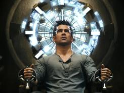 Mind games: Colin Farrell stars as Quaid in the remake of 'Total Recall,' the role previously filled by Arnold Schwarzenegger.
