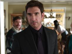 Dylan McDermott stars as Marty's ruthless manager in 'The Campaign,' out Friday.