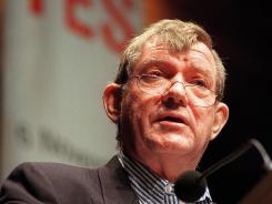 Author and art critic Robert Hughes, who died Monday at the age of 74, wrote for 'Time' magazine for three decades.