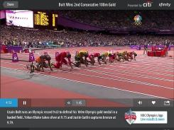 Watch all the events live on the iPad, from Usain Bolt's record 100-meter run to the obscure diver who will never see the light of prime time.