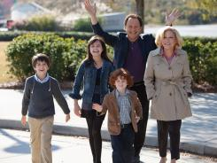 Grandparents know best? Bette Midler, right, and Billy Crystal, along with on-screen grandchildren Kyle Harrison Breitkopf, Bailee Madison and Joshua Rush, explore the issue in the new comedy 'Parental Guidance.'