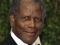 Sidney Poitier: He'll be saluted on TCM.