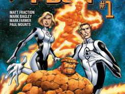 Matt Fraction teams with artist Mark Bagley as the new creative team of Fantastic Four beginning in November.