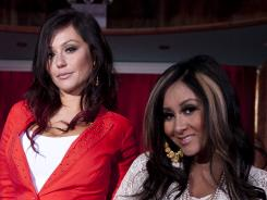 "Jenni ""JOWW"" Farley and Nicole ""Snooki"" Polizzi won't be able to film their 'Jersey Shore' spinoff series in Point Pleasant Beach, N.J."