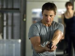 Fresh face: Jeremy Renner offers a strong performance and proves himself to be a capable heir to the Bourne franchise in 'The Bourne Legacy.'