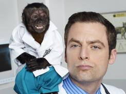 Crystal the monkey is clearly the star of 'Animal Practice.' Justin Kirk, who plays Dr. Coleman, is a good actor left with poor material.