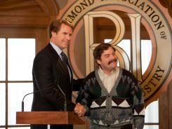 Politically incorrect: Will Ferrell, left, and Zach Galifianakis go head-to-head in the inconsistent but timely new comedy 'The Campaign.'