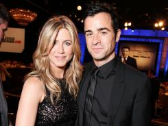 Jennifer Aniston and Justin Theroux became engaged over the weekend.