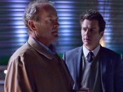 'Glee' alumnus Jonathan Groff, right, joins 'Boss' as an ambitious new aide to Chicago Mayor Tom Kane (Kelsey Grammer).