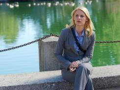 Showtime's 'Homeland,' which is nominated for nine Emmys (including one for lead actress Claire Danes), substitutes Charlotte for Washington.