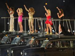 The Spice Girls reunite for the London Olympics closing ceremony, the week's ratings gold medalist.