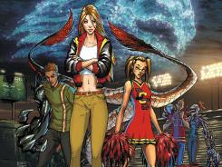 High school kids fight aliens in the new Aspen Comics series Homecoming.