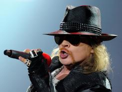 Axl Rose and the rest of Guns N' Roses begin a residency this fall at the Hard Rock Hotel & Casino in Las Vegas.