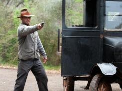 Tom Hardy, who plays a bootlegger in 'Lawless,' thinks the story, set during the Depression, is relevant to today's economic times.
