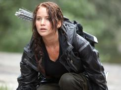 'The Hunger Games,' starring Jennifer Lawrence as Katniss Everdeen, is the Platinum Pick of the Week.