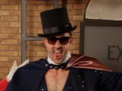 Abracadabra: David Arquette plays the Real Magic Mike in the Web series &quot;Malarious.&quot;