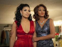 Whitney Houston, right, gives her final performance, and Jordin Sparks finds her first feature film role, in 'Sparkle.'