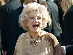 Comedian Phyllis Diller, seen here at the 2003 Emmy Awards, appeared in 23 Bob Hope specials, could hold her own as a concert pianist and earned a special award from the American Academy of Cosmetic Surgery.